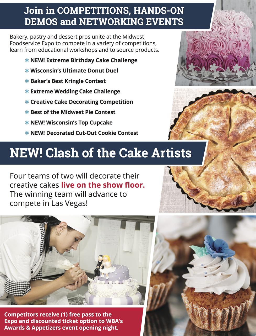 WBA - Wisconsin Bakers Association - 2019 Baking and Cake